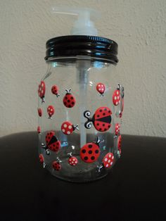 Ladybug Soap Dispenser, I need this for my kitchen!