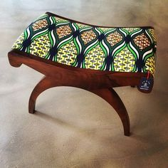 Reinterpret the classic ethnic lifestyle in your sitting room with an ottoman. In true medieval fashion, this upholstered low stool adds warmth and diversity with its bright African colours. Team it up with a sofa of any block colour and let it work its magic.
