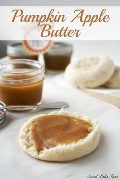 Pumpkin Apple Butter - tastes AMAZING on bread, biscuits, or in oatmeal.  Makes a great gift!