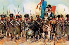 "18e Regiment d'Infanterie de Ligne ""The Brave"".  Napoleon allowed the regiment to place the slogan ""Brave 18th, I know you: No enemy can resist you"" on their flag."