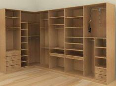 Corner Wardrobe, Wardrobe Design Bedroom, Bedroom Cupboard Designs, Bedroom Cupboards, Master Bedroom Closet, Wardrobe Storage, Bedroom Wardrobe, Wardrobe Closet, Closet Space