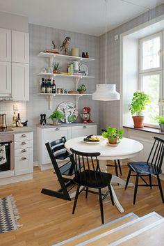 Jurnal de design interior - Amenajări interioare : Amenajare scandinavă într-un apartament de 3 camere