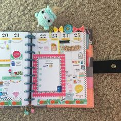 «Next Week spread on my @the_happy_planner using the October Planner Society kit fron @theplannersociety  #plannergirl #plannerlove #etsyshop…»