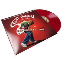 Now on clear red vinyl! The original comic that spawned the awesome Scott Pilgrim vs. The World movie also inspired this amazing soundtrack. Those that saw the movie/read the comic already know this i