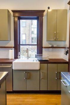 Bethia & Andy's Renovated Victorian Kitchen in Columbus — Kitchen Tour | The Kitchn