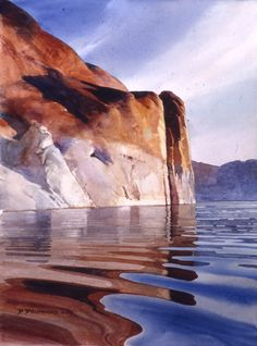 Nicely done rendition of Water!  (watercolor by David Drummond)