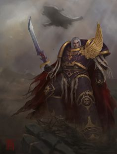 ArtStation - WH40k - Fulgrim, Connor Magill