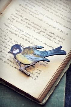 Your place to buy and sell all things handmade colorful bird wooden brooch. Book Nooks, Bird Watching, Bird Art, Love Book, Bird Feathers, Blue Bird, Book Lovers, Origami, Blue And White