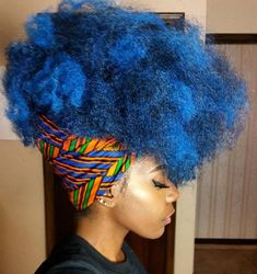 ***Try Hair Trigger Growth Elixir*** ========================= {Grow Lust Worthy Hair FASTER Naturally with Hair Trigger} ========================= Go To: www.HairTriggerr.com ========================= This Blue Kinky Hair is So HOTTT & FABULOUS!!!!