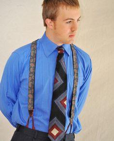 Men's Designer Necktie Vintage Halston Tie / by ArmorOfModernMen, $16.00