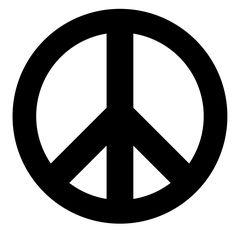 Adhesivo de vinilo símbolo de la paz adhesivo - Símbolos - decalsmania.com - Tu…