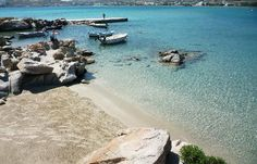 Kolimpithres Beach in Paros island Greece.