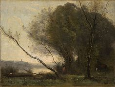 Camille COROT | The bent tree [L'Arbre penché]
