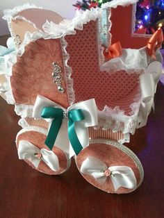 The Tenley Baby Carriage Centerpiece by TheCarriageShoppe on Etsy