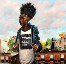 23 Super Ideas for black art hair afro frank morrison African American Artist, American Artists, African Art, African American Expressions, Black Love Art, Black Girl Art, Black Ish, Frank Morrison Art, Black Art Pictures