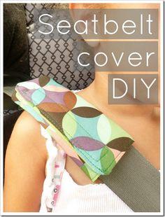 Seatbelt cover DIY