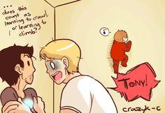 Steve. Tony. Peter.