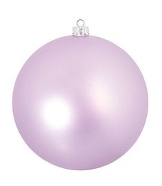 Transparent White Christmas Ball PNG Clipart