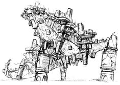 Colossus Concept - Pictures & Characters Art - Shadow of the Colossus
