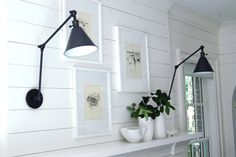 white cottage walls