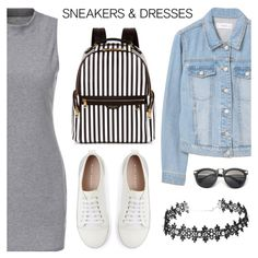 Sporty Chic: Sneakers and Dresses by dora04