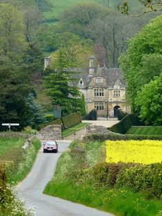 Cotswold Road England.