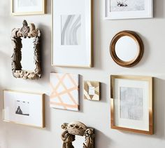These casual and contemporary frames with an included mat are a wonderful way to showcase special photos. Picture Frame Table, Picture Wall, Picture Frames, Gallery Wall Frames, Frames On Wall, Gallery Walls, Art Gallery, Pottery Barn, Diploma Display