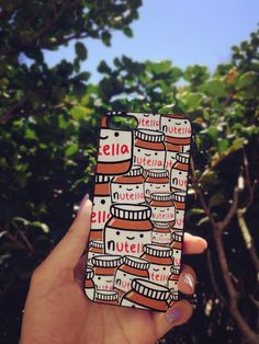 A phone case for Nutella lovers.