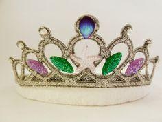 Mermaid Headband, Mermaid Crown, Mermaid Tiara, Ariel The Little Mermaid Tiara, Purple Sea Shell , Starfish Headband,Baby Toddler Headband