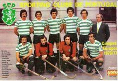 Sporting Clube de Portugal Campeão Europeu de Roller Hokey, 1977
