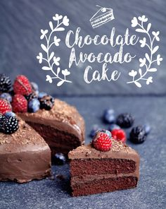 Vegan Gluten-free Chocolate Avocado Cake One thing that my blog is missing is a good two layered chocolate cake. That's until now of course! I've finally got my act together and made a vegan and…