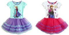 Elsa and Anna frozen tutu with shirt