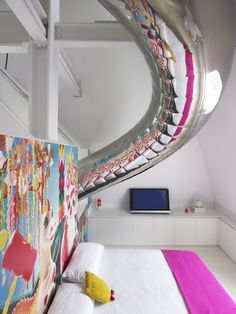 Fun House.  Designed by interior designer Ghislaine Viñas and architect David Hotson
