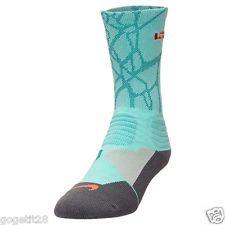 Nike Hyper Elite Lebron James Cushioned Dri-Fit Basketball Socks 2.0 Sz 8-12 L