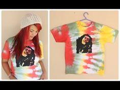▶ DIY: T-shirt do Reggae - YouTube Videotutorial