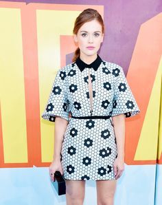 Holland Roden attends The 2015 MTV Movie Awards at Nokia Theatre L.A. Live on April 12, 2015 in Los Angeles, California.