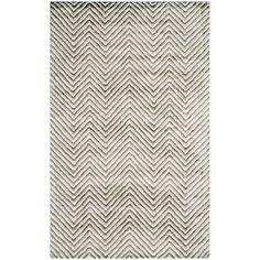 Soho Ivory/Grey 5 ft. x 8 ft. Area Rug