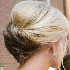 Pretty wedding hair love it