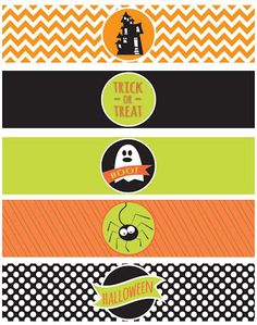 "I Dig Pinterest: FREE PRINTABLES: A ""Frightfully"" Delightful Halloween Party!"