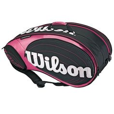 72b6c4585397 The Wilson Tour tennis bag in pink