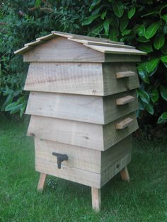 Wooden Beehive Wormery