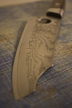 Custom Chef knife by Bryan Denehy