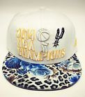 For Sale - San Antonio Spurs 2014 NBA Champions Hat Adidas Adjustable Snapback Cap - See More At http://sprtz.us/SpursEBay