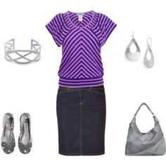 Purple, created by heather-smythers on Polyvore