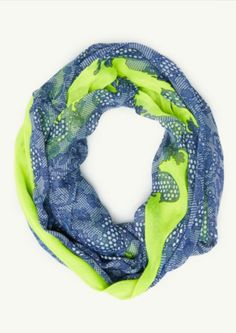 Neon Paisley Infinity Scarf | Scarves | rue21