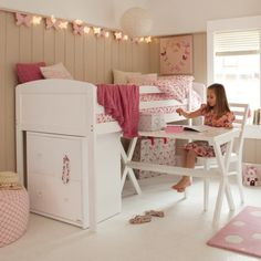 Abbotsbury Mid Sleeper - like this minus the desk...takes up too much space