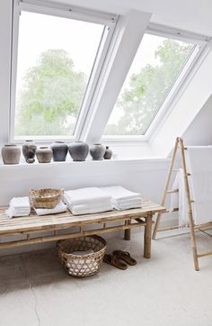 skylight-best way to get natural light and a start to feng shui your attic/loft space