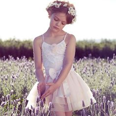 With a nod to the charming yesteryear costumes of Harlequin and Columbine, your little one will love the petal pastel colour and feminine silhouette of the Sweet Pea Tutu Dress. Available online now as part of the Deep in the Meadow collection. #tutudumonde #tutucute #deepinthemeadow #kidsfashion shot by @hayleysparksphotography