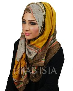 my yellow ethnic hijab scarf that I'm going to be getting in the mail soon YAY!! Hijab-ista.com