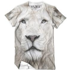 Men's White Lion Tee